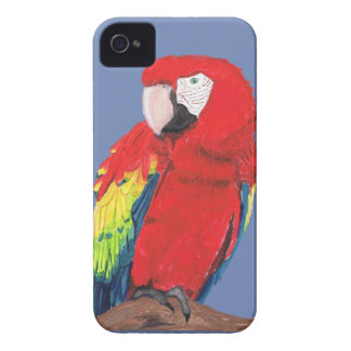 Scarlet Macaw Phone case