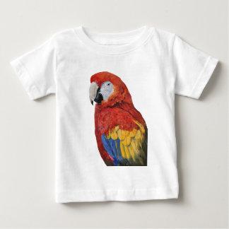 Scarlet Macaw portrait design Baby T-Shirt