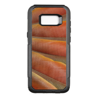 Scarlet Macaw Red-Orange Feathers OtterBox Commuter Samsung Galaxy S8+ Case