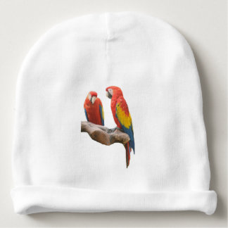 Scarlet Macaws Baby Beanie