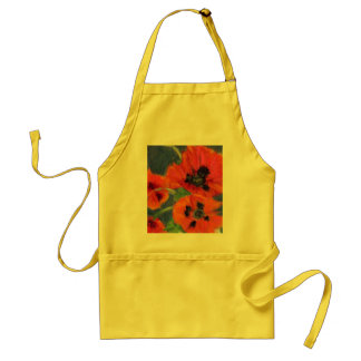 Scarlet Poppies Apron