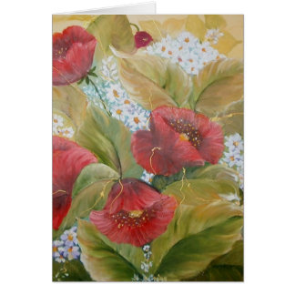SCARLET POPPIES CARDS