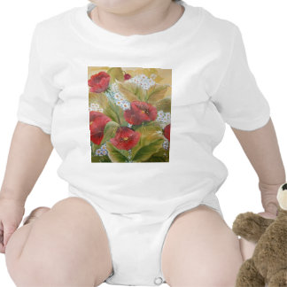 SCARLET POPPIES T SHIRTS