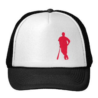 Scarlet Red Baseball; Softball Hats