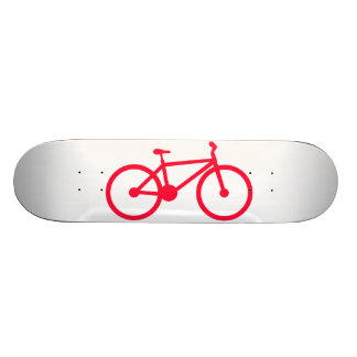 Scarlet Red Bicycle Skateboards