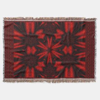 Scarlet Summer Throw Blanket