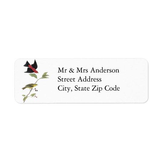 Scarlet Tanager - John James Audubon
