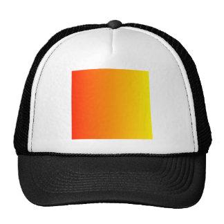 Scarlet to Lemon Vertical Gradient Trucker Hat