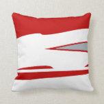 Scarlet Warrier 3 Throw Pillow
