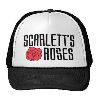 Scarlett s Roses Cap Trucker Hats