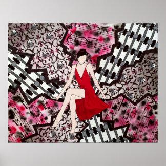 Scarlett Woman Print