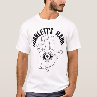 Scarlett's Hand Logo Men's White T-Shirt