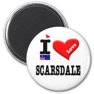 SCARSDALE - I Love Magnet