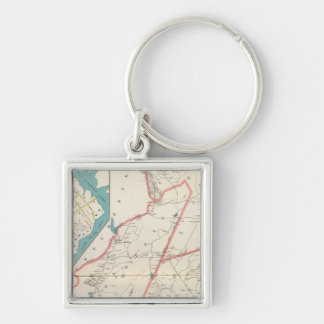 Scarsdale, New Rochelle, Mamaroneck towns Key Ring