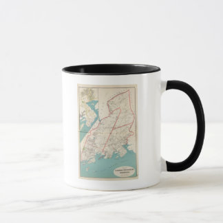 Scarsdale, New Rochelle, Mamaroneck towns Mug