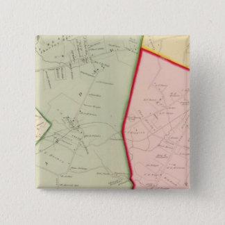 Scarsdale, White Plains, New York 15 Cm Square Badge