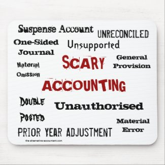 accountant scary gift