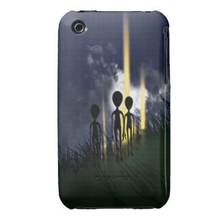 Scary Alien Abduction iPhone 3 Covers