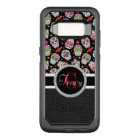 Scary and bloodcurdling intimidating sugar skull OtterBox commuter samsung galaxy s8 case