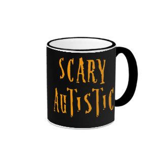 Scary Autistic Mugs