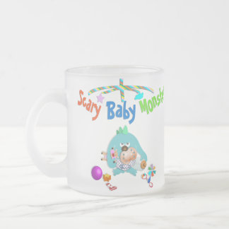 Scary baby monster mug