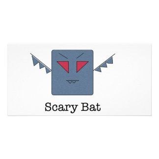 Scary Bat_monsters 011 Photo Card Template