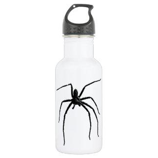 Scary big halloween spider 532 ml water bottle
