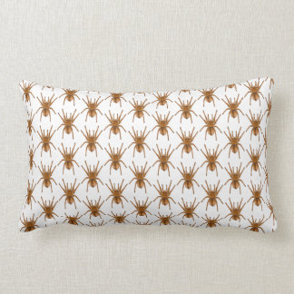 scary brown spider Throw pillow