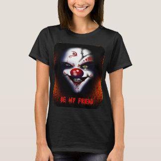 Scary Clown - Be My Friend Ladies T-Shirt