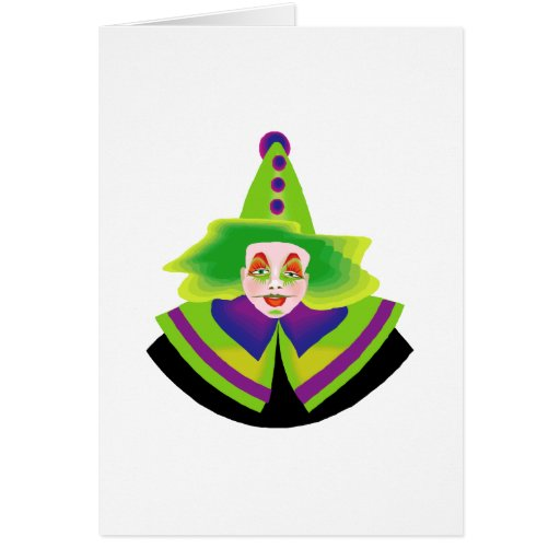 Scary Clown Cards