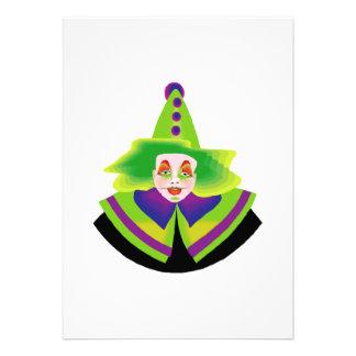 Scary Clown Custom Announcement