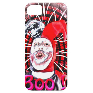 scary clown iPhone 5 cover