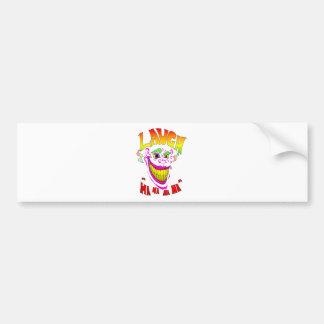Scary Clown Laugh Bumper Sticker