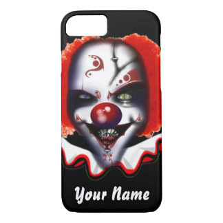 scary clown meme halloween or christmas phone case