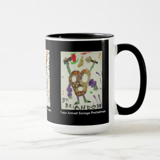 Scary creatures from the mind of Brian Dodd Mug