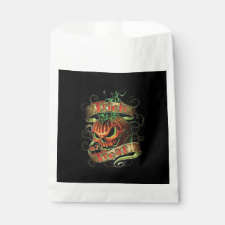 Scary Deal Halloween Favor Bags