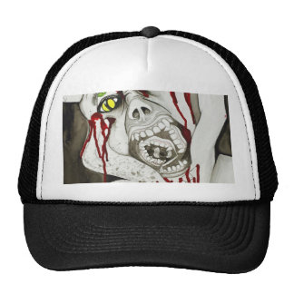 Scary demon possession hat