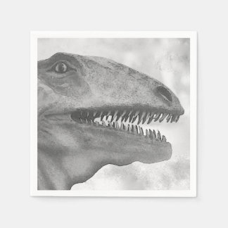 Scary Dinosaur Disposable Napkins