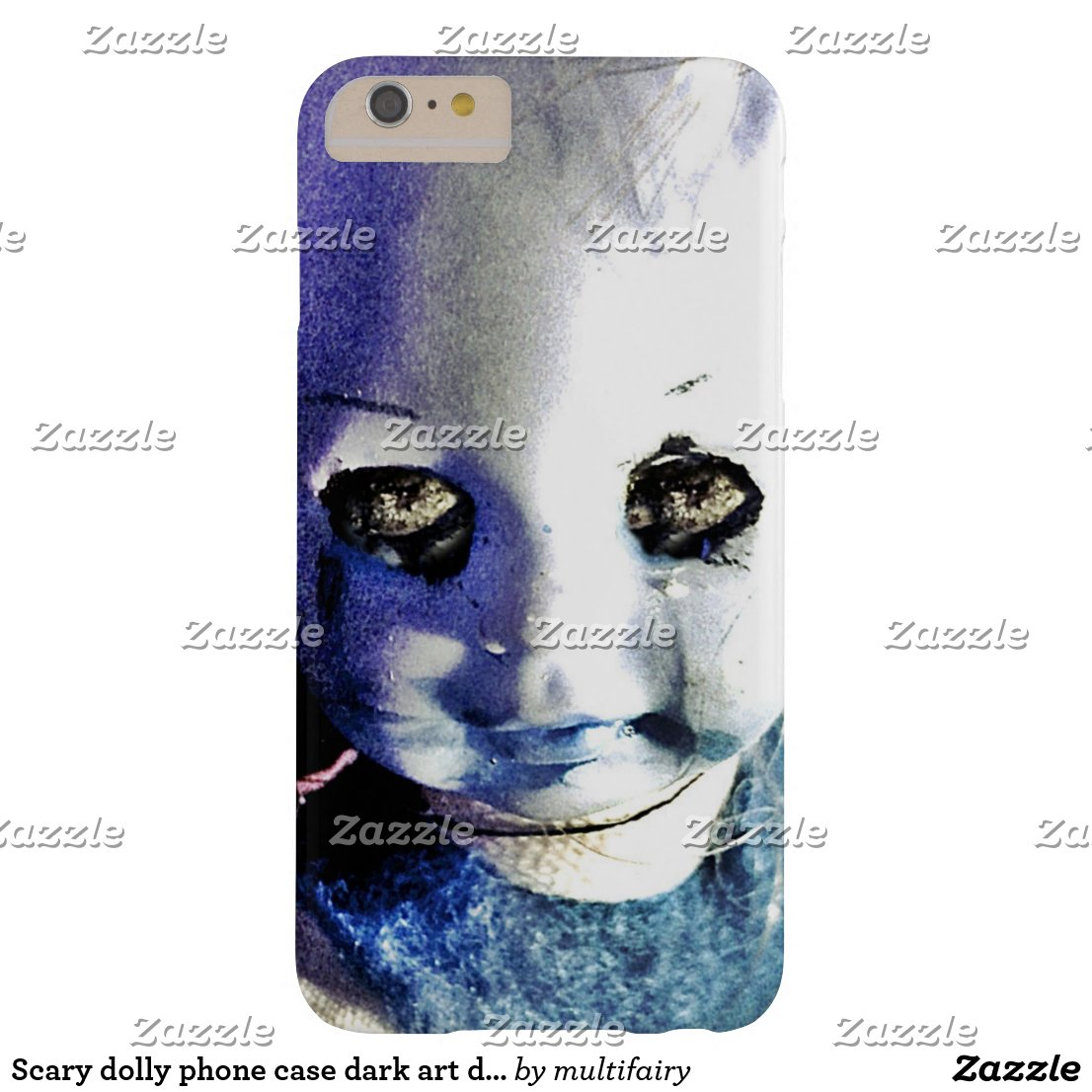 Scary dolly phone case dark art doll