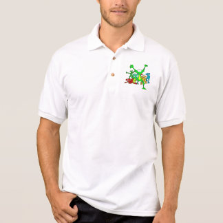 SCARY FROGS POLO SHIRT