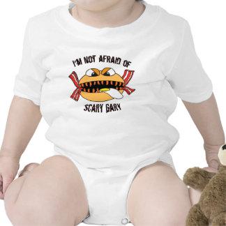 Scary Gary Jr Baby Bodysuits