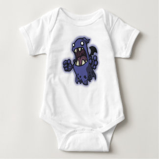 Scary Ghost Babygrow Baby Bodysuit