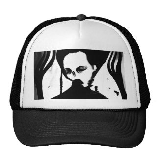 Scary ghost gothic hat