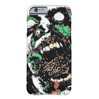 Scary Gross Zombie eating Worms Cell Phone Case