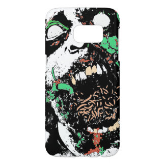 Scary Gross Zombie eating Worms Phone Case
