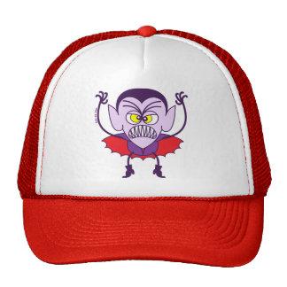 Scary Halloween Dracula Emoticon Cap