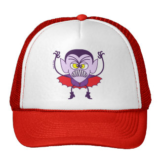 Scary Halloween Dracula Emoticon Hat