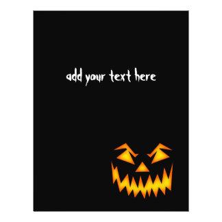 Scary Halloween Face 21.5 Cm X 28 Cm Flyer