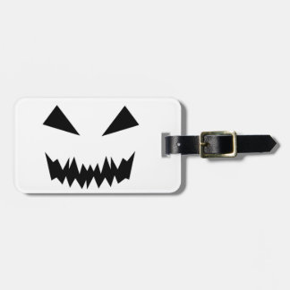 Scary Halloween Face Luggage Tag