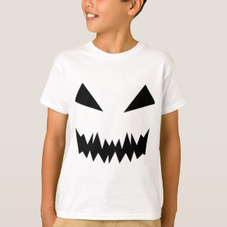 Scary Halloween Face T-Shirt